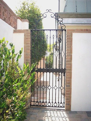 Rustic 101 Wrought Iron Gates