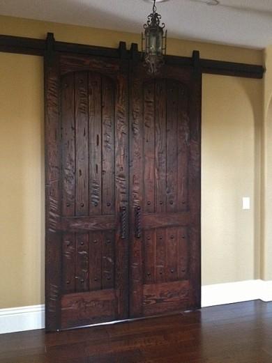 Rustic 101 Interior Doors Wine Room Barn Type Office