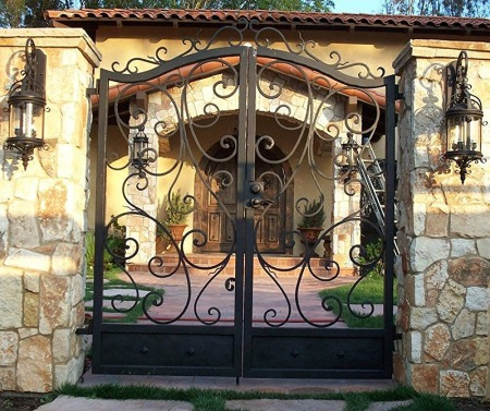 Rustic 101 Wrought Iron Gates