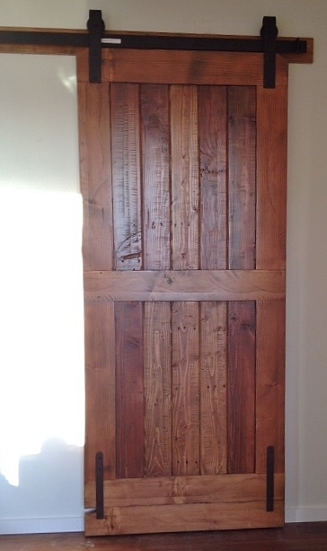 Barn Door Ocean Side 201 Old Distressed Wood.