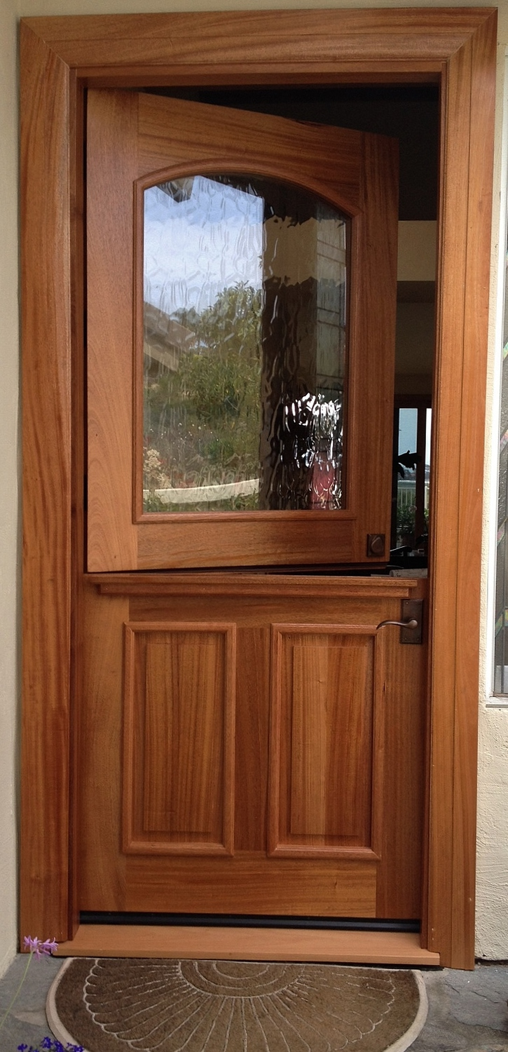 Rustic 101 entry doors solid mahogany dutch door wbig flemish glass no stain clear sikkens protection carlsbad 2014 3 6 c 8 0 planetlyrics Images