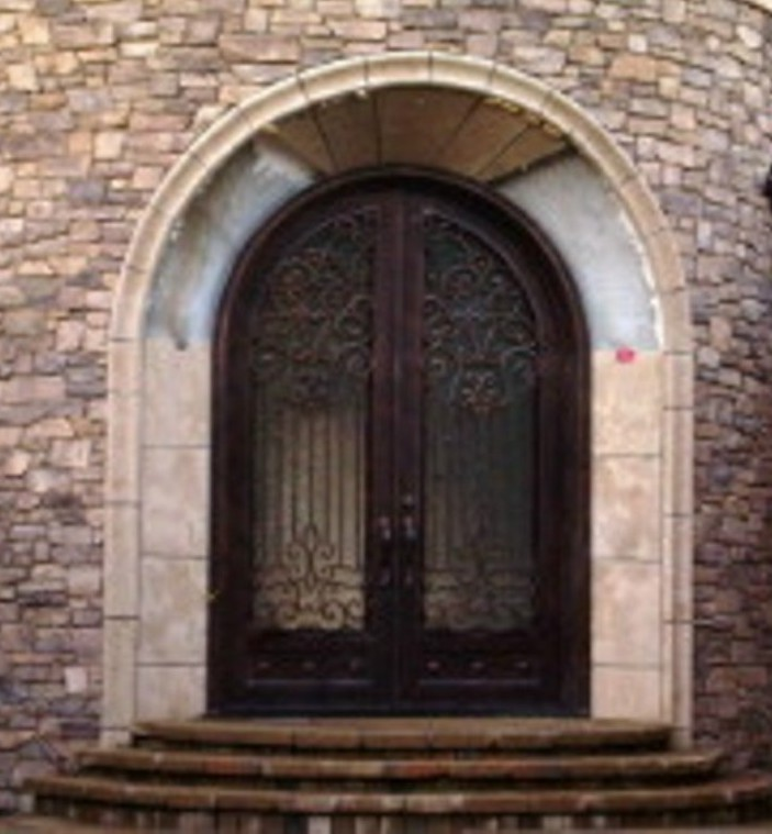 Rustic 101 Steel Glass And Iron Doors