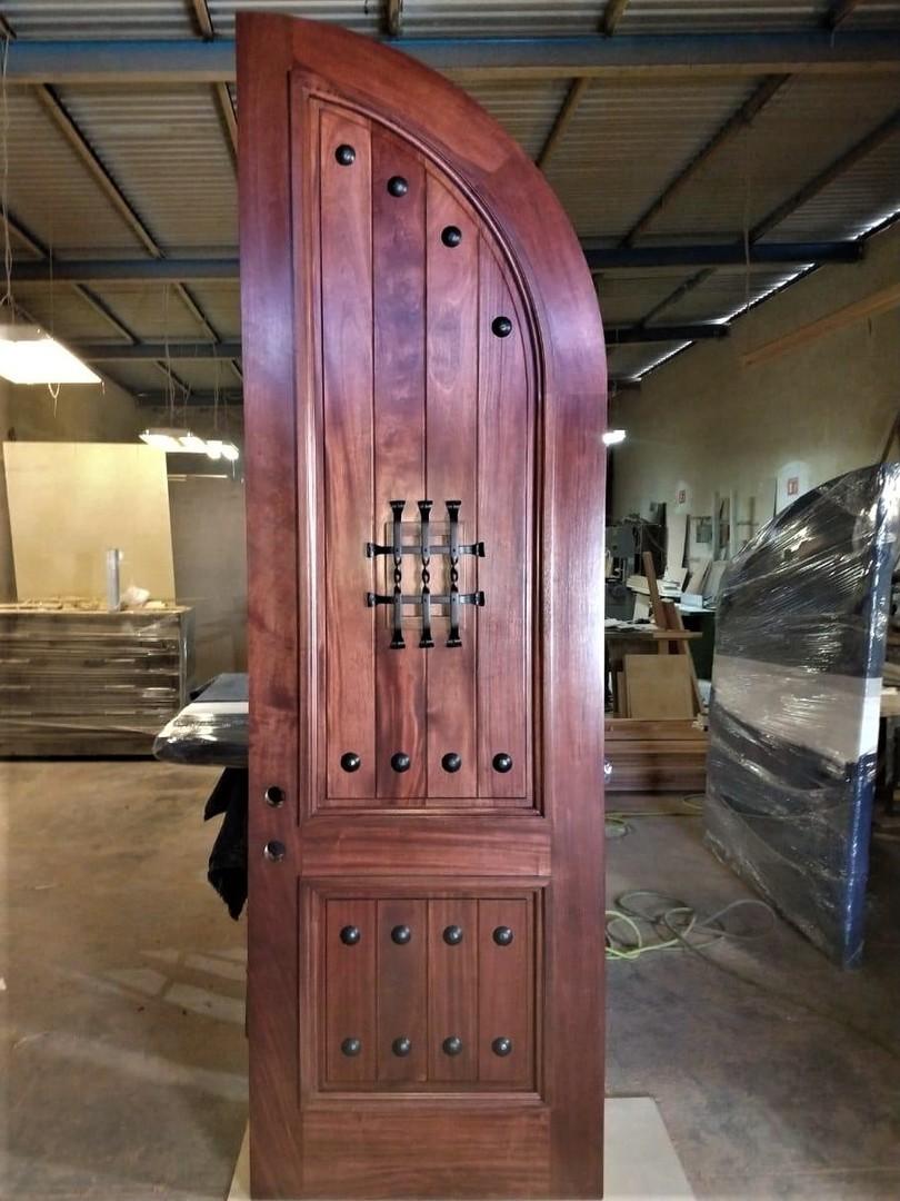 Rustic 101 Mahogany Doors