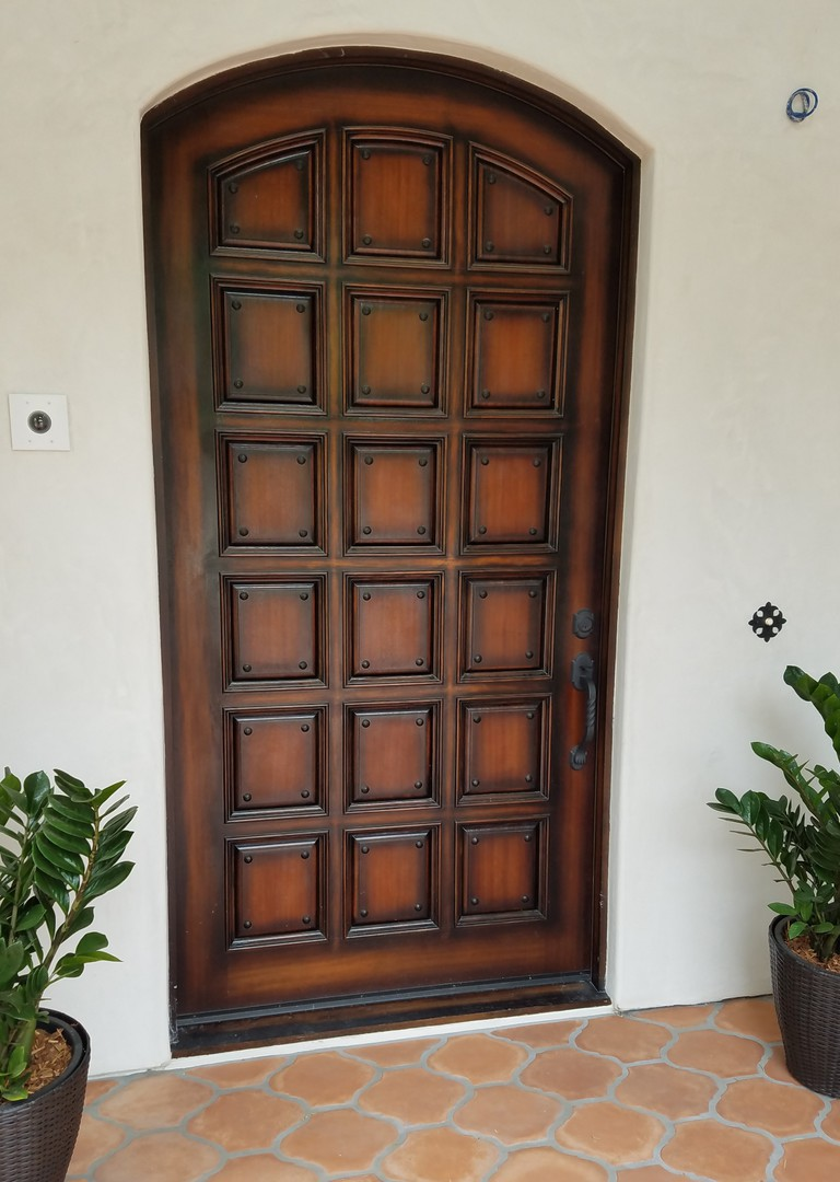 Mahogany Wood Laguna Hills 2017 Color Chaparral Glazed